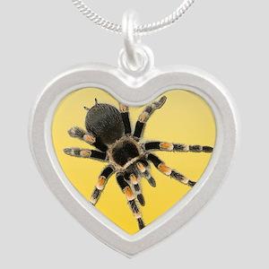 Tarantula Spider Yellow Necklaces