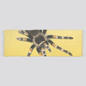 Tarantula Spider Yellow Scarf