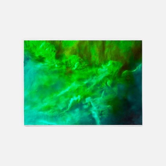 Lagoon Nebula 5'x7'Area Rug