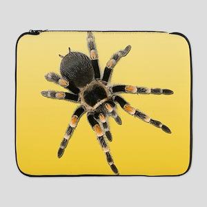"Tarantula Spider Yellow 17"" Laptop Sleeve"