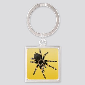 Tarantula Spider Yellow Keychains