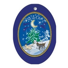 Gift of the Old One Oval Ornament