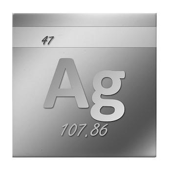 Silver (Ag) Tile Coaster