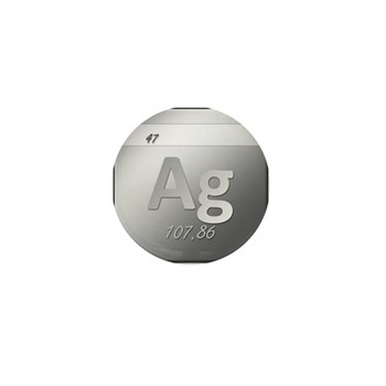 Silver (Ag) Mini Button (10 pack)