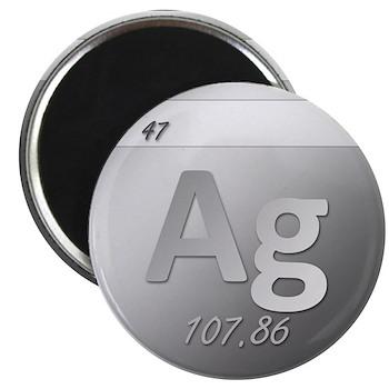 Silver (Ag) Magnet