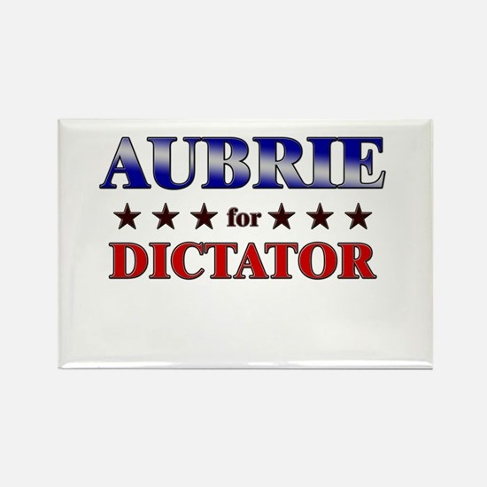 AUBRIE for dictator Rectangle Magnet