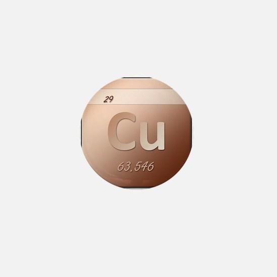Copper (Cu) Mini Button