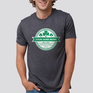 Irish Pub Shamrocks Persona Mens Tri-blend T-Shirt