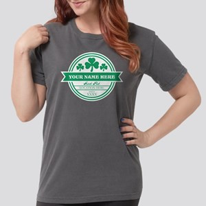 Irish Pub Shamrocks Pe Womens Comfort Colors Shirt
