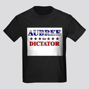 AUBREE for dictator Kids Dark T-Shirt