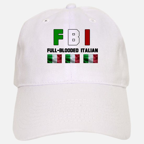 Full-Blooded Italian Baseball Baseball Cap