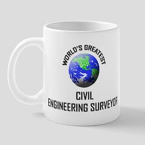 World's Greatest CIVIL ENGINEERING SURVEYOR Mug