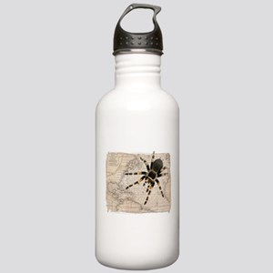 Spider Map Stainless Water Bottle 1.0L