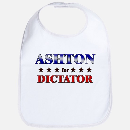ASHTON for dictator Bib