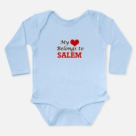 My heart belongs to Salem Oregon Body Suit