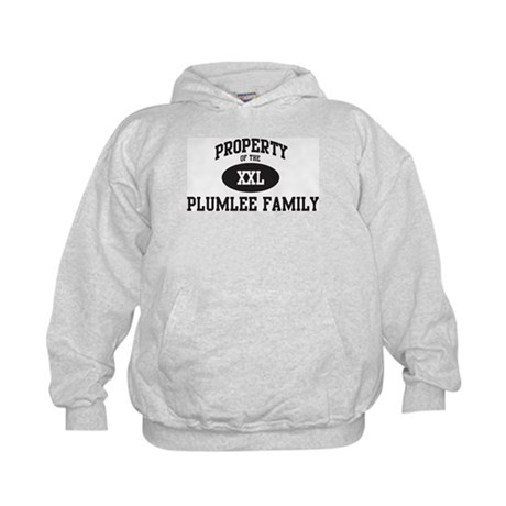 Property of Plumlee Family Kids Hoodie