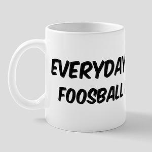 Foosball everyday Mug