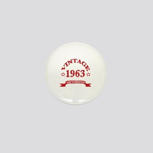 Vintage 1963 Aged To Perfection Mini Button