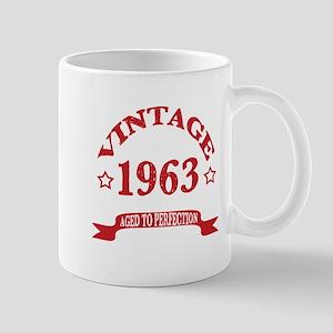 Vintage 1963 Aged To Perfection 11 oz Ceramic Mug