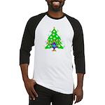 Christmas and Hanukkah Interfaith Baseball Jersey