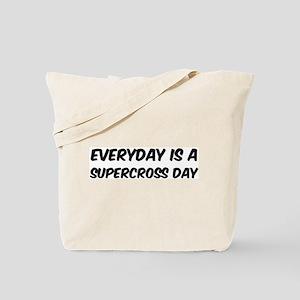 Supercross everyday Tote Bag