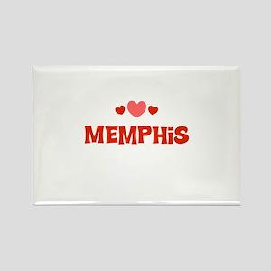 Memphis Rectangle Magnet
