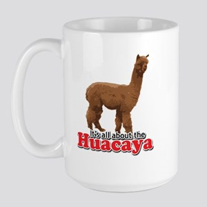 It's all about the Huacaya (a Large Mug