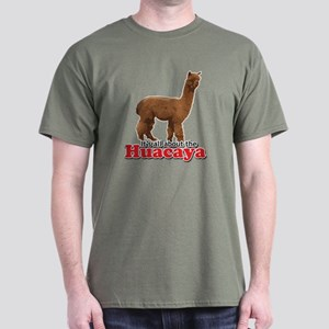 It's all about the Huacaya (a Dark T-Shirt