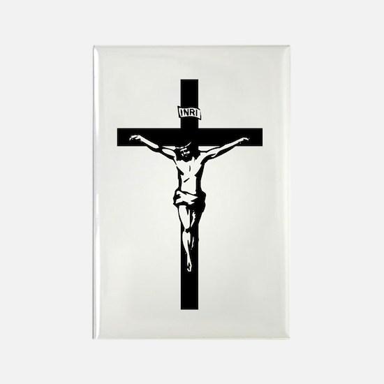 Crucifix Rectangle Magnet