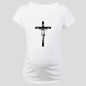 Crucifix Maternity T-Shirt
