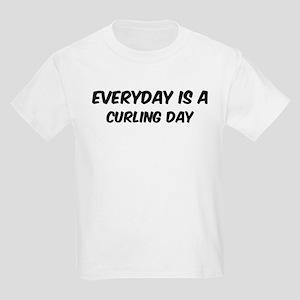 Curling everyday Kids Light T-Shirt