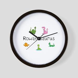 Rowanosaurus Wall Clock