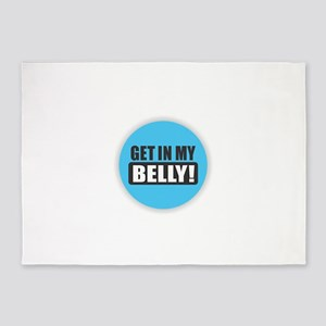Belly 5'x7'Area Rug