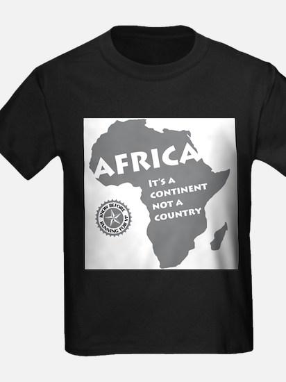 Africa Is A Continen T-Shirt