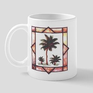 Framed Palm Tree Mug