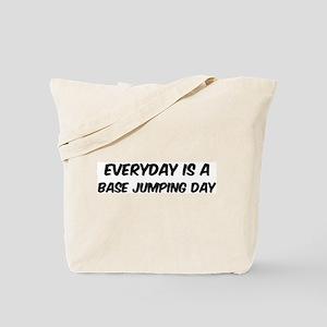 Base Jumping everyday Tote Bag