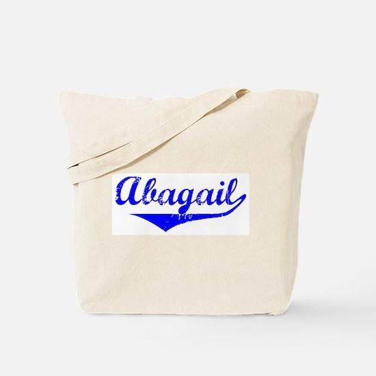 Abagail Vintage (Blue) Tote Bag