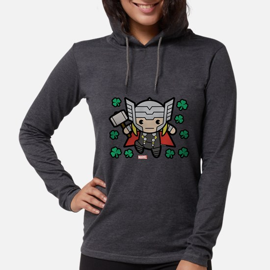 Thor Clovers Womens Hooded Shirt