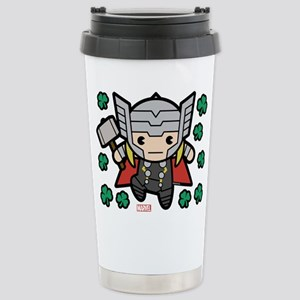 Thor Clovers 16 oz Stainless Steel Travel Mug