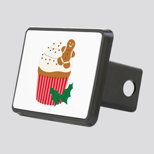 Christmas Cupcake Hitch Cover
