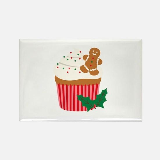 Christmas Cupcake Magnets