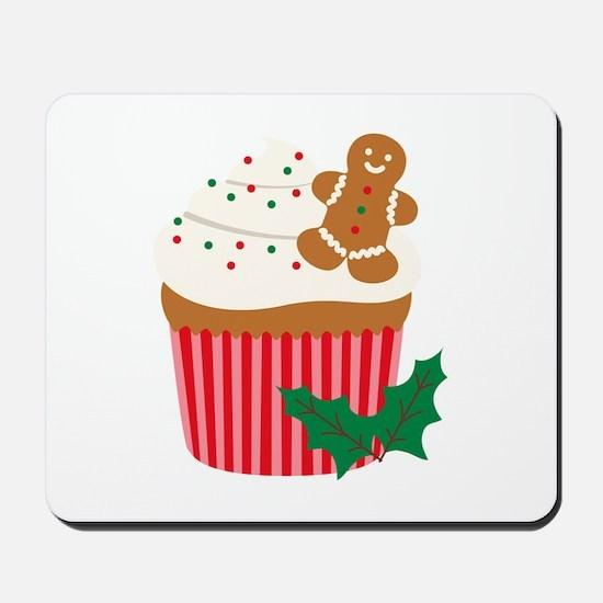 Christmas Cupcake Mousepad