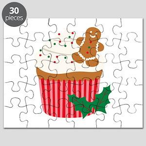 Christmas Cupcake Puzzle