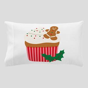 Christmas Cupcake Pillow Case