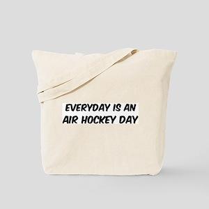 Air Hockey everyday Tote Bag