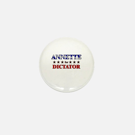 ANNETTE for dictator Mini Button