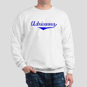 Adrianna Vintage (Blue) Sweatshirt