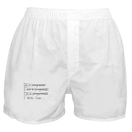 I write code Boxer Shorts