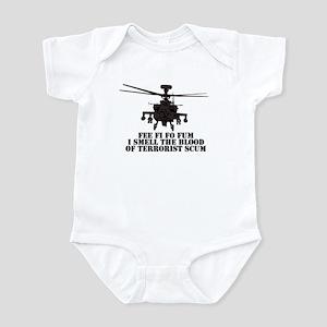 Apache AH-64 Anti-terror Infant Bodysuit