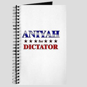 ANIYAH for dictator Journal